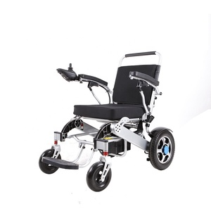Amazon hot sale health care product portable light weight handicapped cheap price folding electric power wheelchair
