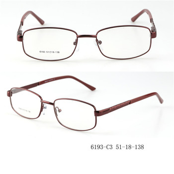 c27a66cfa261 New Model High Quality Glasses Eyewear Optical Frame Glasses Ready Made  Metal Prescription Eyeglasses Frames