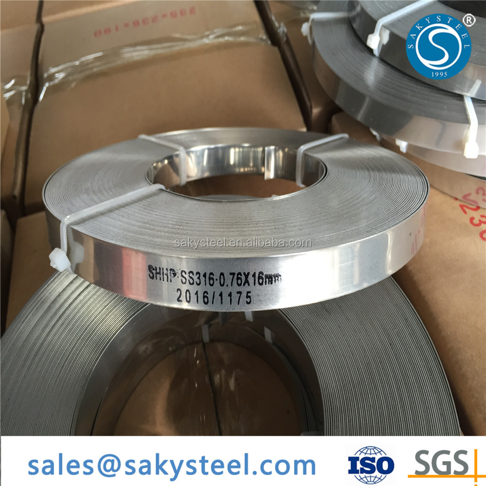 201 202 301 304 316 316L stainless steel strapping band price
