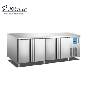 produce commercial undercounter refrigerator freezer 4 door GN Series of Kitchen project