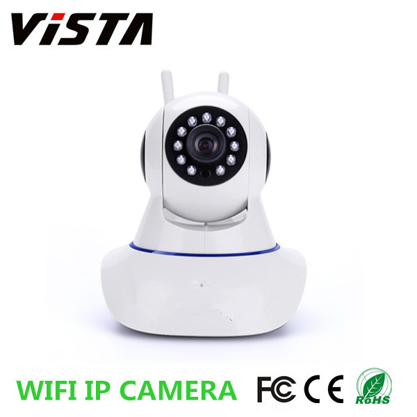 720P Home Security Wifi IP Camera 12V HD Wireless IR IP Camera With Night Vision ,Two Way Audio,SD Card Slot