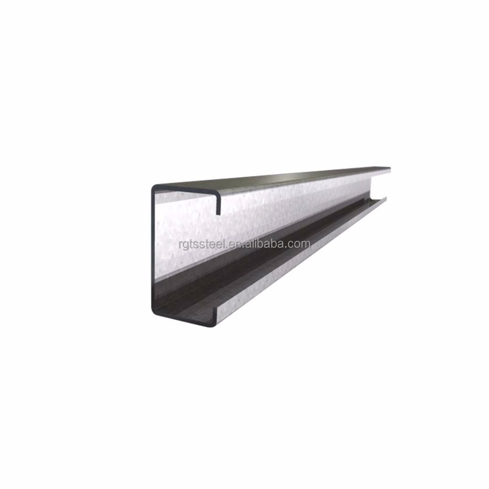 standard length galvanized steel channel C purlin
