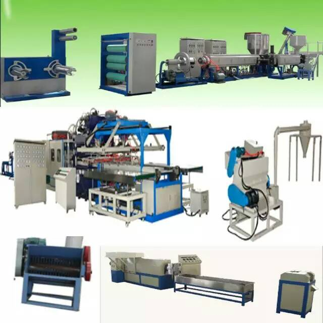 plastic EPS foam Food box/container/tray making machine