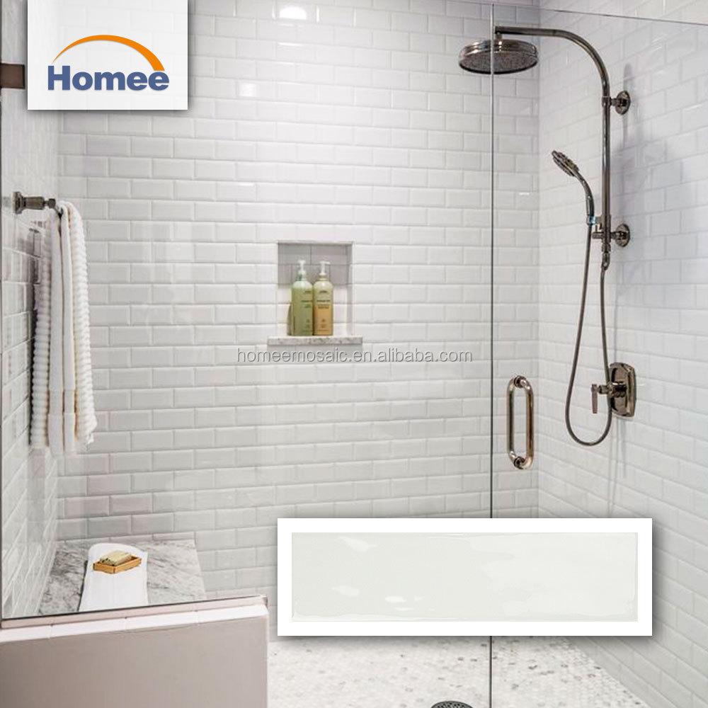 White Subway Tiles Bathroom Wall Tile Shower New Ceramic Tiles ...