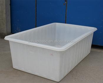 800 Liters Rotomolding Rectangular Large Clear Plastic