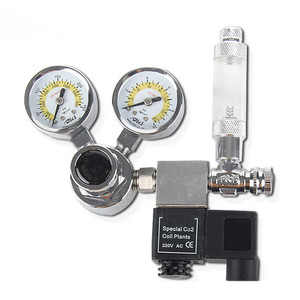 New Design Customized Top Quality Single Gauge Aquarium Mini Co2 Gas Regulator