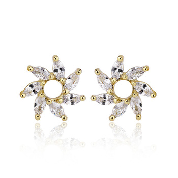 689b975e6 Best Plating Gold Ear Tops Designs Daily Wear Earrings - Buy Earring ...
