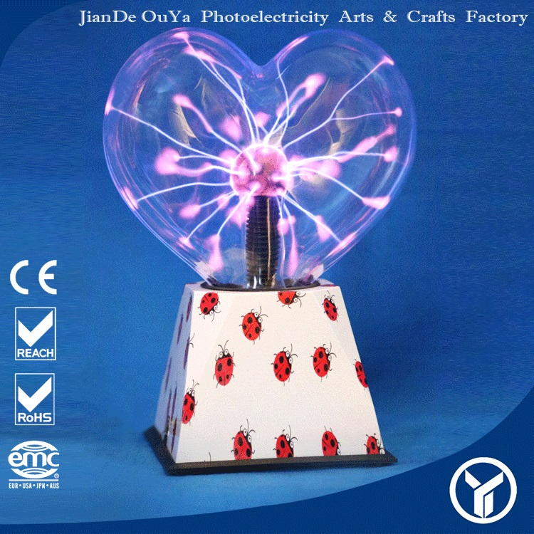 Wholesale China trade 8 inch glass electric lightning plasma lamp