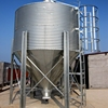 23.5T Galvanized steel silo storage used for chicken farm