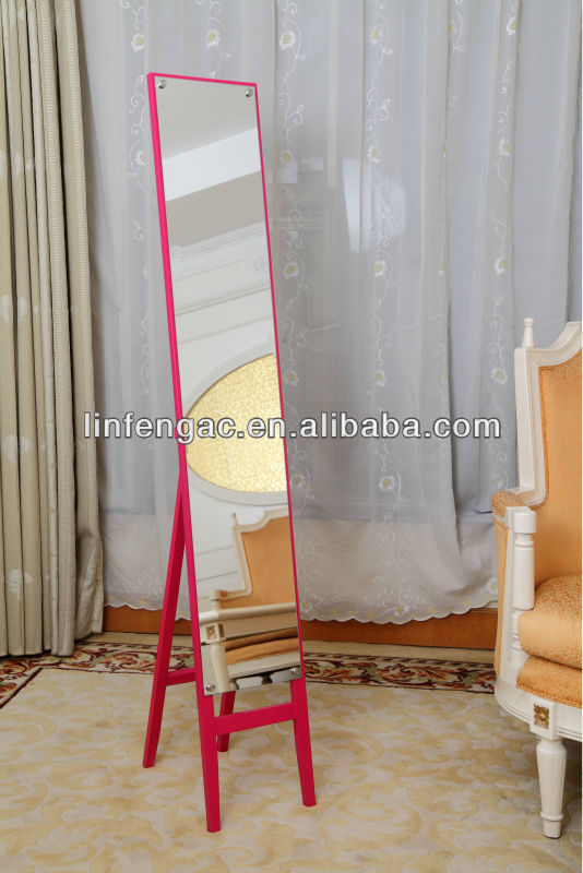 Free Standing Mirrored Glass Bedroom Furniture Funky Mirrors