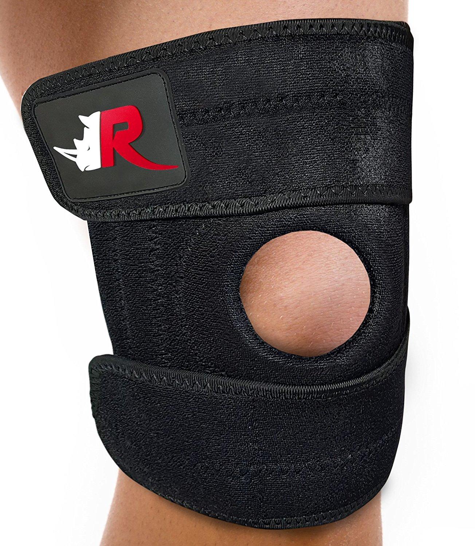 9603c14020 Get Quotations · Large Knee Brace (w/Bag) - Adjustable Support for  Arthritis, Meniscus Tear