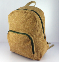 factory backpack child customized cork bag for students cork backpack