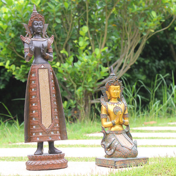 Maison Et Jardin Décoration Thaï Bouddha Statue. - Buy Décoration De Maison  Et De Jardin,Statue De Bouddha Thaïlandais,Statue De Jardin Product on ...