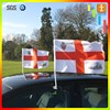 Promotion Car Mirror Flags with Plastic pole