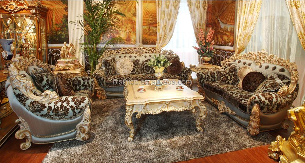 Luxury Victorian Style Solid Wood Rose Sofa Set/ Elegant Gorgeous ...
