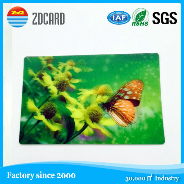 2015 best!! 3d flip effect 3D card 3d advertising poster