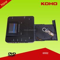 koho kr02 portable vcr to dvd recorder player with av input