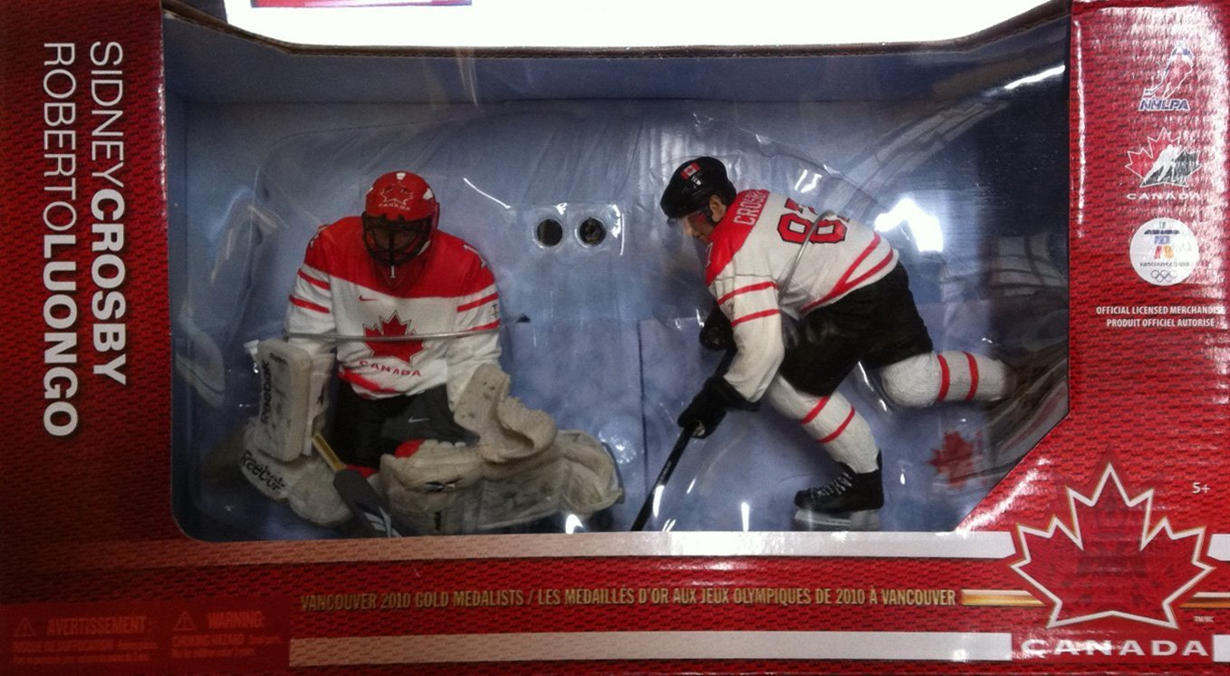 d8731db5f Get Quotations · McFarlane Toys NHL Sports Picks Team Canada 2010 Series 2  Action Figure 2-Pack