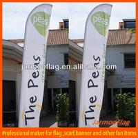 custom feather indoor flag pole