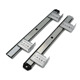 China 35mm Ball Bearing Keyboard Track Slide Rail for Sale