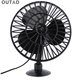 USB Fan For car Portable Mini Fan Mini 12V 4 Inch Summer Mini Air Fan Car Vehicle Cooling Suction Cup Adsorption