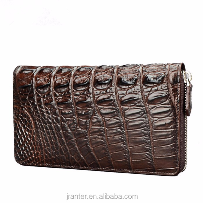 2016 best mens clutch wallet brands genuine crocodile leather designer mens wallet