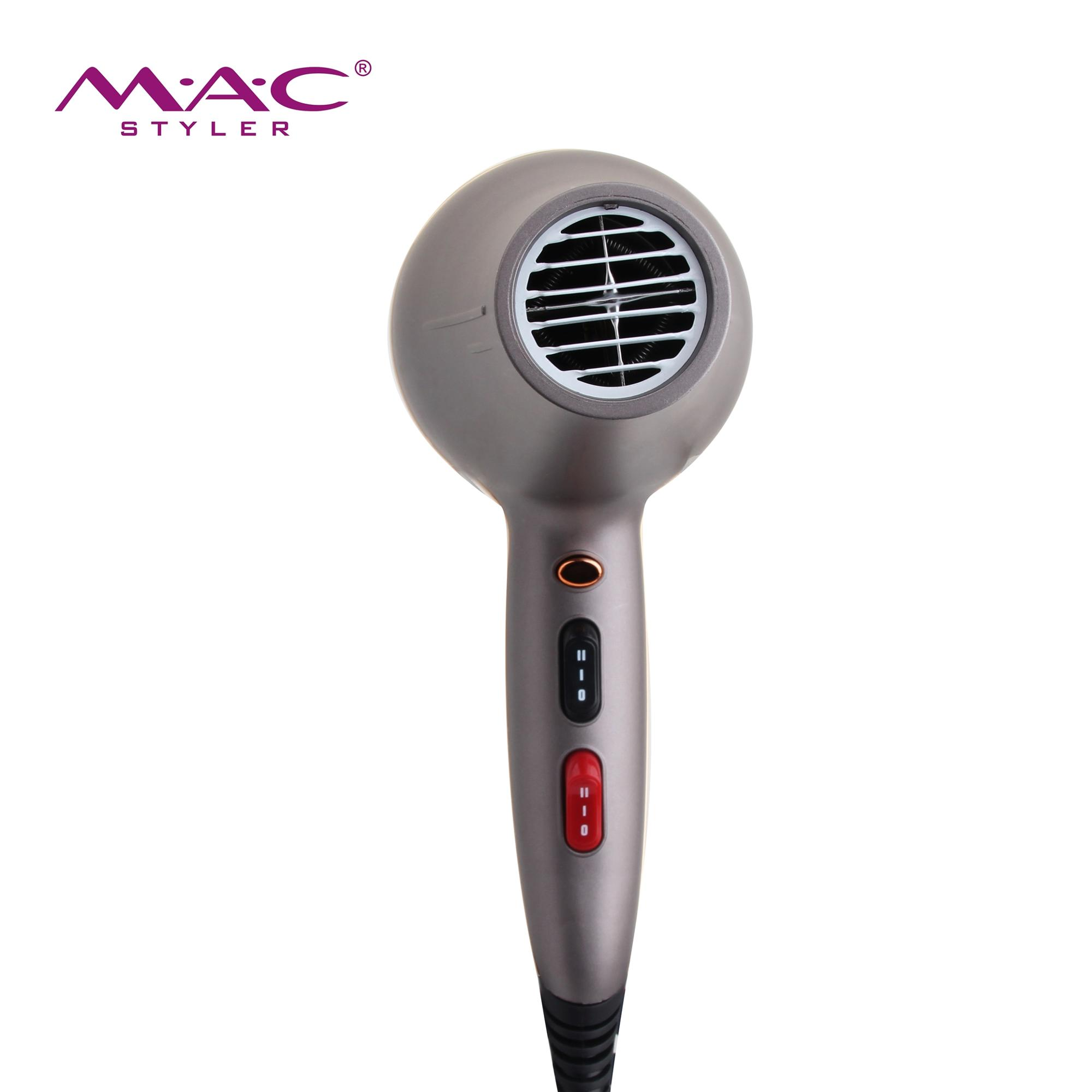 High quality and high sales blow dryer Plastic material professional ionic AC motor household and salon hair dryerhair dryer