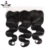 Wholesale cheap body wave human hair lace frontals with baby hair