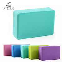 Hot newest item high density EVA foam yoga block, bamboo yoga block, yoga brick