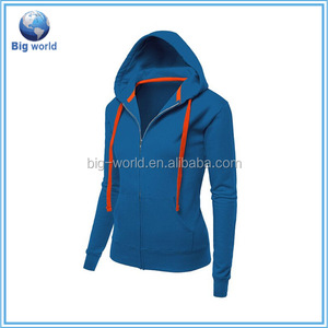 factory custom Girls sleeveless Hoodies