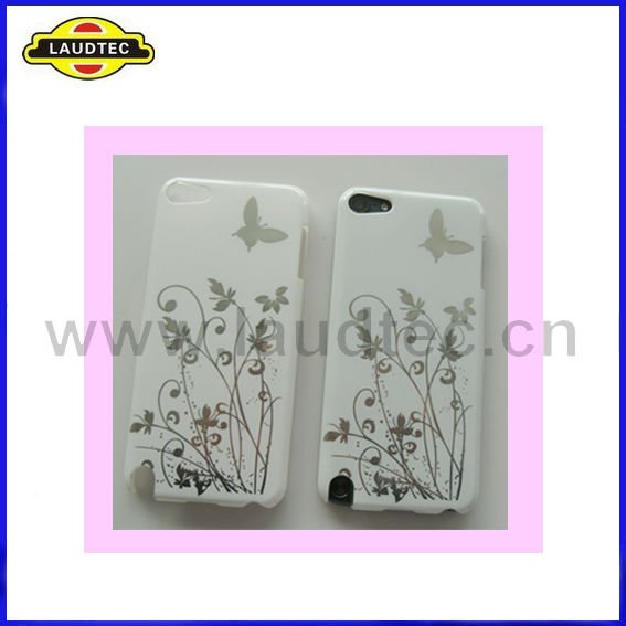 for Apple IPod Touch 5 White IMD Hard Case,High Quality PC Case,More Colour--Laudtec