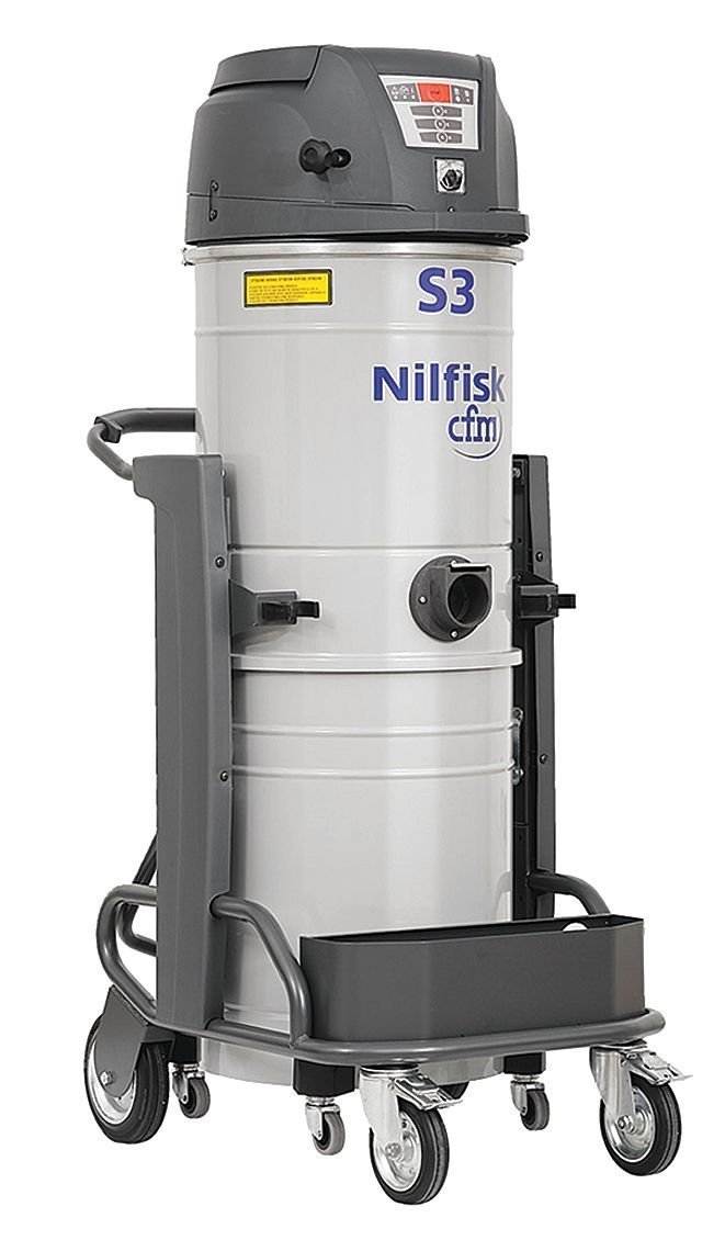 Nilfisk-Advance - 1-S3/100N1 - Dry Vacuum, 3.22 HP, 26 gal., 120V