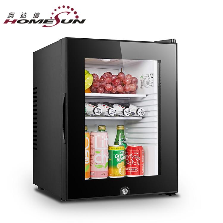 Bcg 40b 40l Chocolate Refrigeratorglass Door Mini Display Fridge