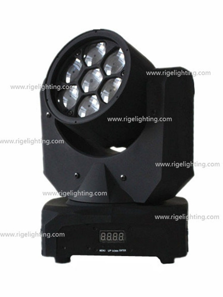 NEWEST hot selling high power brightness 7leds 10w led moving head beam sharpy light