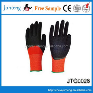 Special light hand job gloves, black cotton gloves hand job gloves