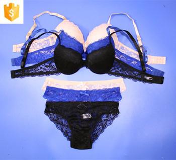 894753556 Sexy Fancy Bra Panty Set Women Sexy Lace Sheer Push-up Bra Set - Buy ...