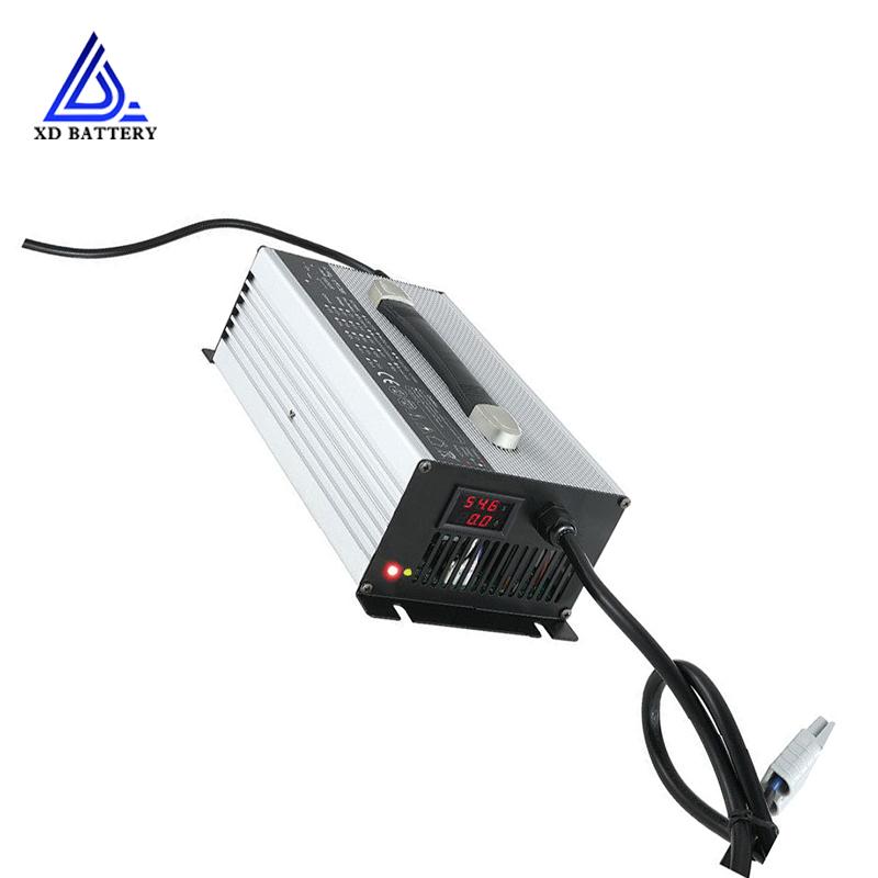 10Amp 12V 24V 36V Lithium ion Lifepo4 70AH 100AH 110AH 600W Solar Battery Charger, Black whiteor custom
