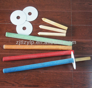 hand-hold cotton torch wax torch activities candles