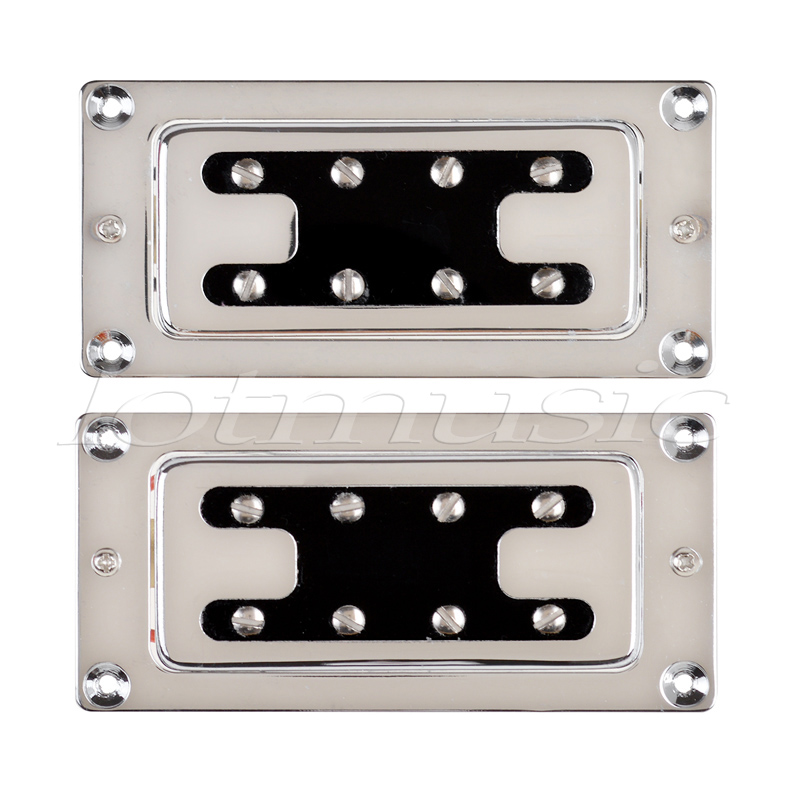 humbucker bass pickups double coil pickup for electric bass guitar parts accessories 4 string. Black Bedroom Furniture Sets. Home Design Ideas