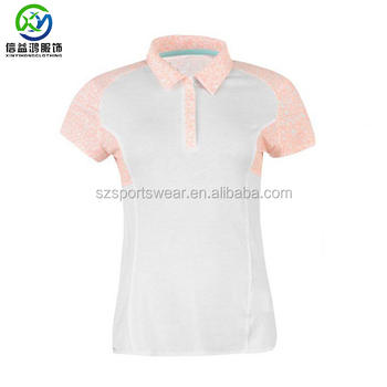 Designer Golf Polo Shirts | New Design Sublimation Splicing Smooth Material Golf Polo Shirts For