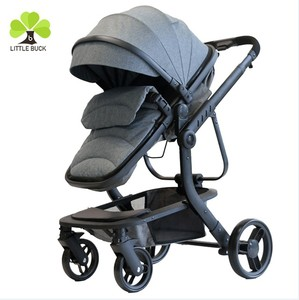Top quality trolley baby cheap price baby crib trolley 2-in-1 baby stroller with 4 wheels suspension