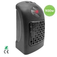 900W CE UL Electric Warm Blower Mini Hand Portable Hot Yoga Room Air Fan Electric Space Small PC Heater For Home