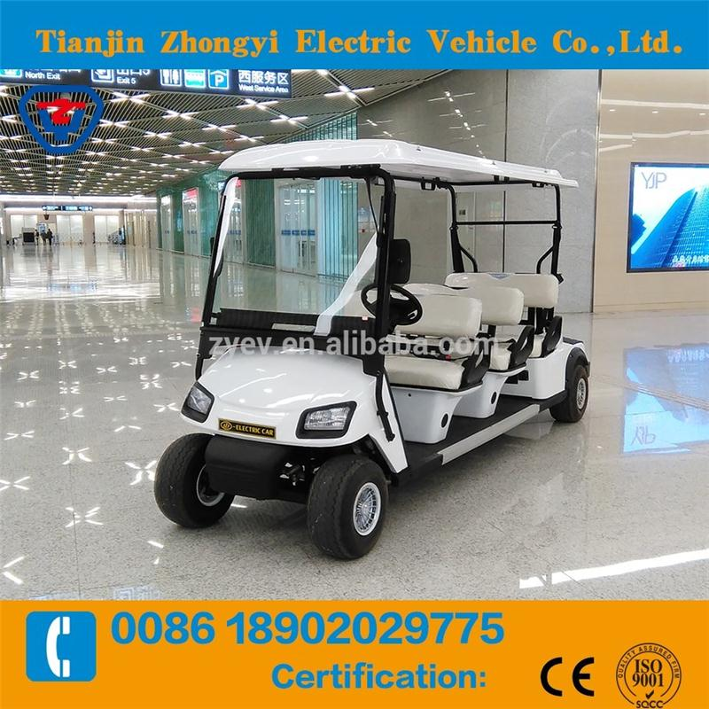 4 wheel ce approved golf cart with great price
