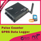 Pulse Counter GPRS data logger measure the ambient temperature