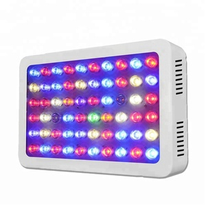 Indoor LED Grow Light 300W 12 Band Full Spectrum ,Dual VEG and Bloom Switches, Plant Light Grow