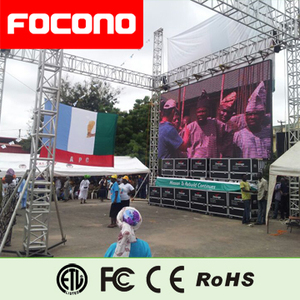 Outdoor Rental LED Screen with Flying Case Hanging Bar P10