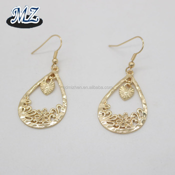 Fashion Pendant Earring New Designs Gold Jhumka Earring For