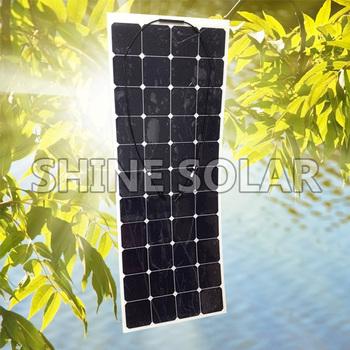 Mx Flex Flexible Solar Panel Sunpower 30wp 50wp 60wp 100wp