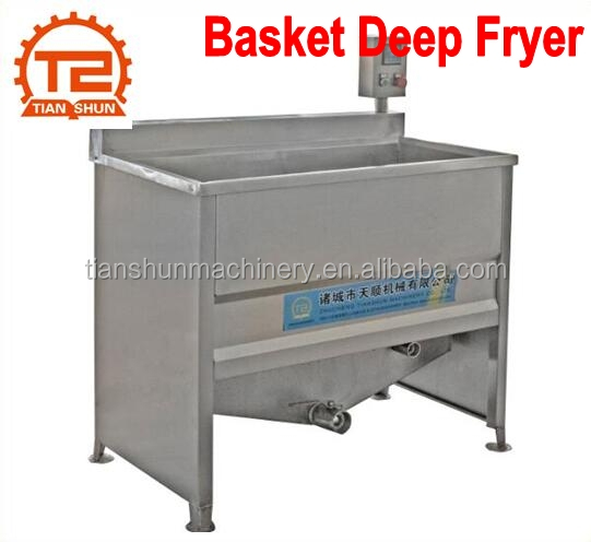 Double Tank Commercial Restaurant Food Deep Fryer Machine