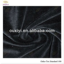 nylon tricot knit fabric velvet